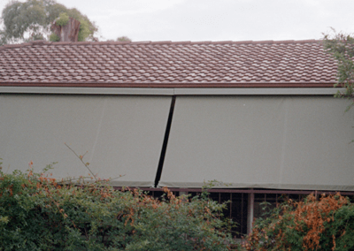 Straight Drop Awnings