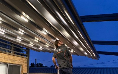 OUTDOOR TRANSFORMATION – RETRACTABLE ROOF SYSTEM